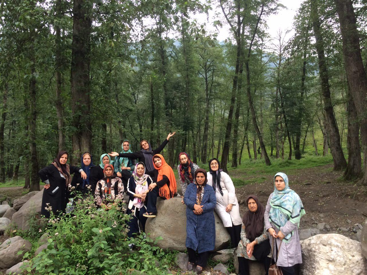 سفر طبیعت درمانی به جنگل های مازندران منطقه لفور تابستان 1393