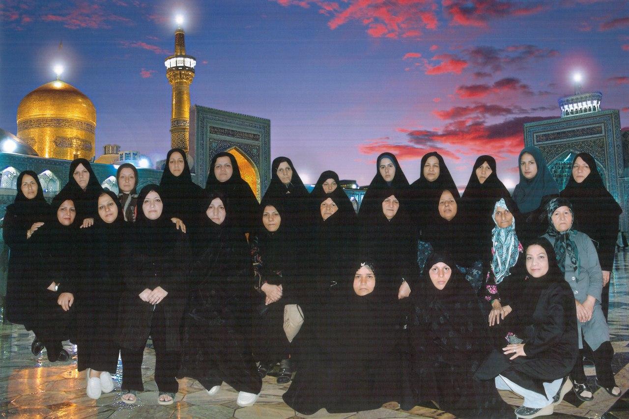 اولین سفر زیارتی مشهد مقدس 1390