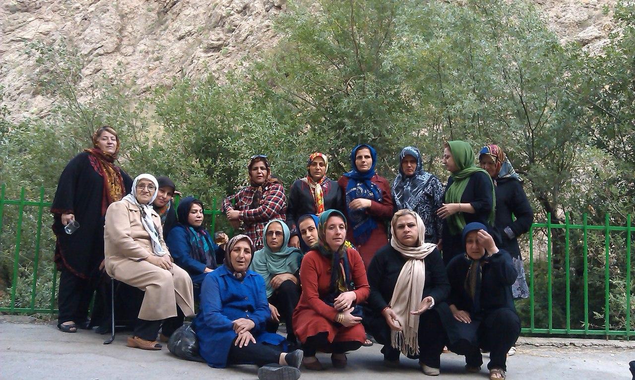 اردوی کوهستانی در ورسه خواران ارجمند فیروزکوه