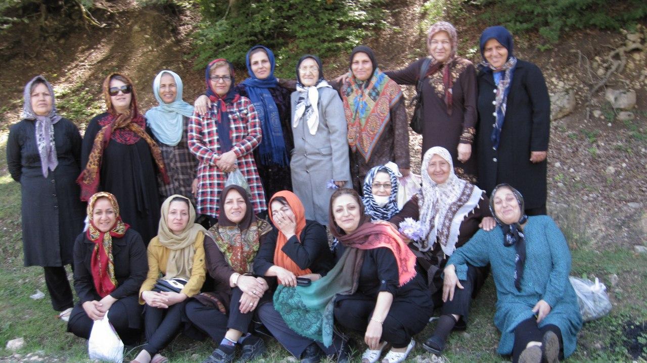 سال 95 سفر گروه درمانی به منطقه ییلاقی ورسک