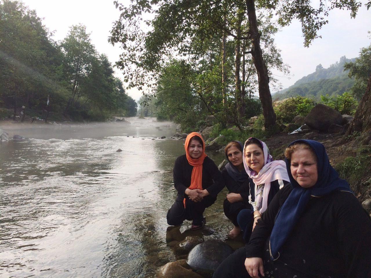 سفر طبیعت درمانی منطقه جنگلی شاهکلا لفور