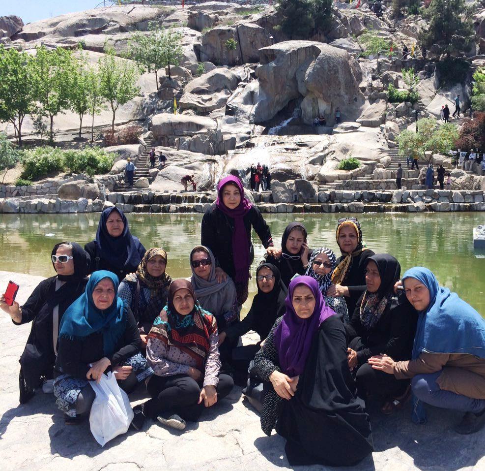 فضایی از کوه سنگی مشهد در سال 1396