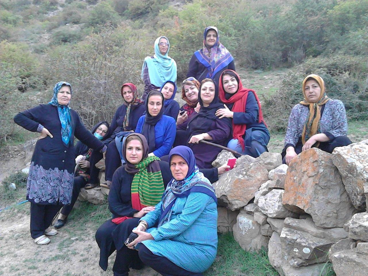 منطقه جنگلی کوهستانی شیخ موسی ییلاق طبیعت درمانی