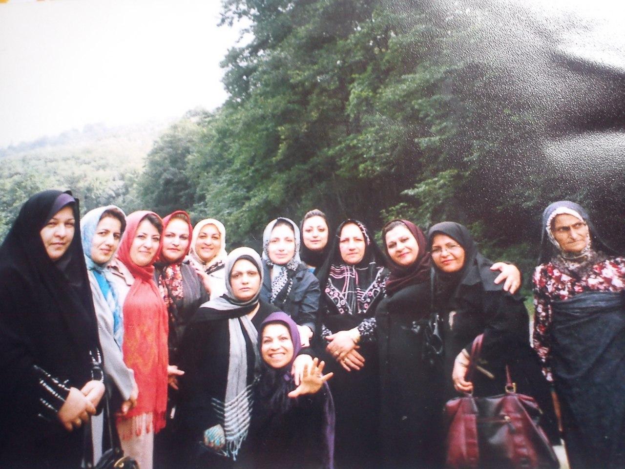 اردوی طبیعت درمانی در  منطقه جنگلی لفور