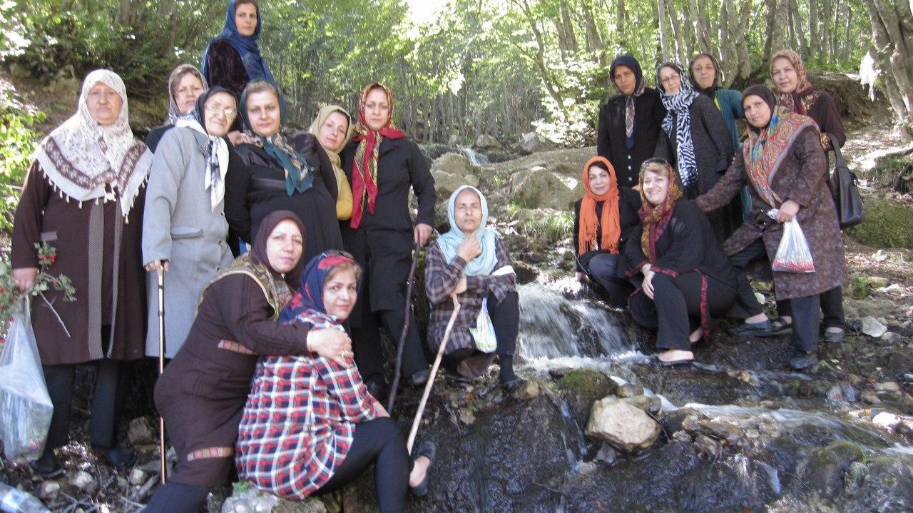 سفر گروه درمانی به منطقه ییلاقی ورسک  سال 1394