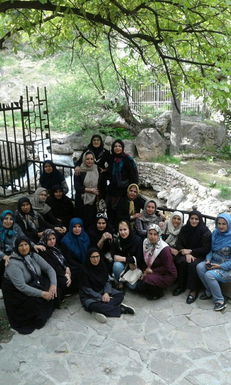 سفر مشهد و گلگشت در منطقه ییلاقی اخلمد روستایی در دل جنگل و کوهستان   بهار 1396