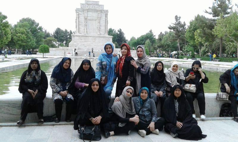 سفر زیارتی سیاحتی مشهد  فضای فردوسی بهار 1396