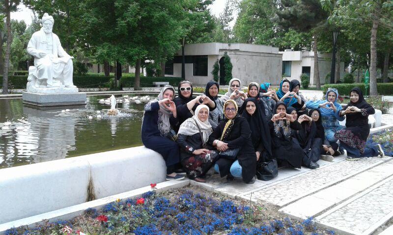 سفر زیارتی سیاحتی مشهد در فضای فردوسی بهار 1396
